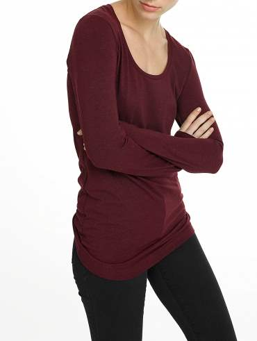 Modal Cotton Scoopneck Tunic