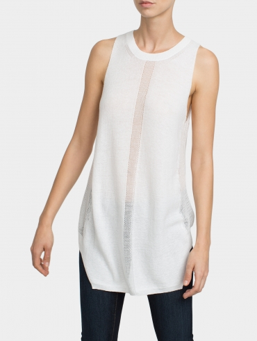 Cotton Cut In Stitch Tank
